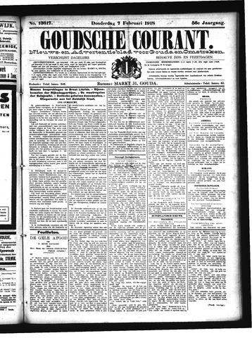 Goudsche Courant 1918-02-07