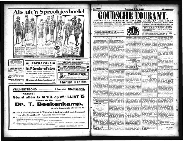Goudsche Courant 1927-04-06
