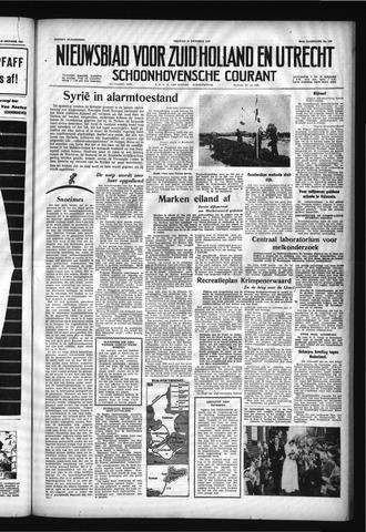 Schoonhovensche Courant 1957-10-18