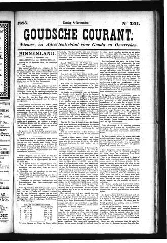 Goudsche Courant 1885-11-08