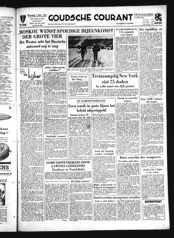 Goudsche Courant 1951-02-07