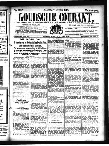 Goudsche Courant 1918-10-07