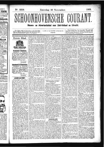 Schoonhovensche Courant 1902-11-29
