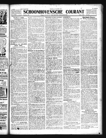 Schoonhovensche Courant 1943-08-13