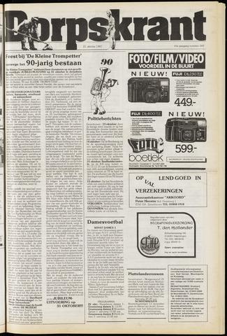 Dorpskrant 1987-10-21