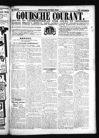 Goudsche Courant 1933-04-13