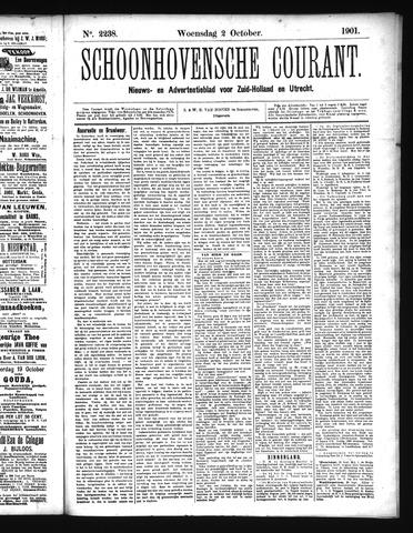 Schoonhovensche Courant 1901-10-02