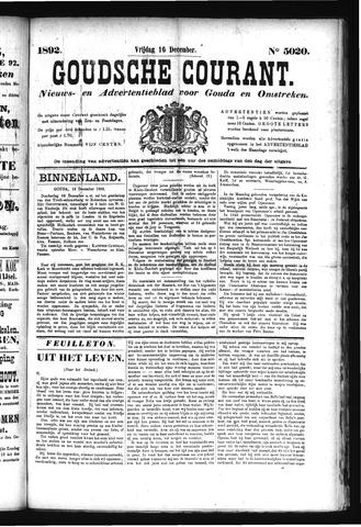 Goudsche Courant 1892-12-16