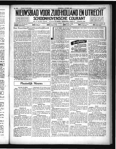 Schoonhovensche Courant 1935-10-02