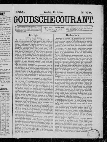 Goudsche Courant 1865-10-15