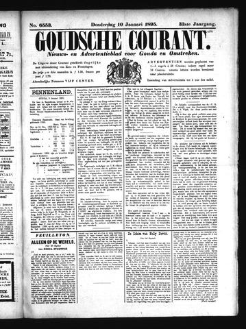 Goudsche Courant 1895-01-10