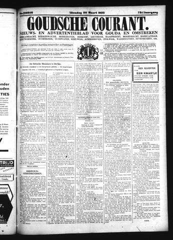 Goudsche Courant 1935-03-26