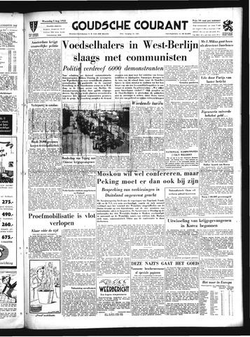 Goudsche Courant 1953-08-05
