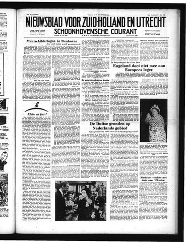 Schoonhovensche Courant 1951-09-12