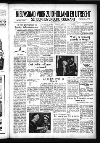 Schoonhovensche Courant 1956-06-15