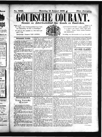 Goudsche Courant 1900-01-15