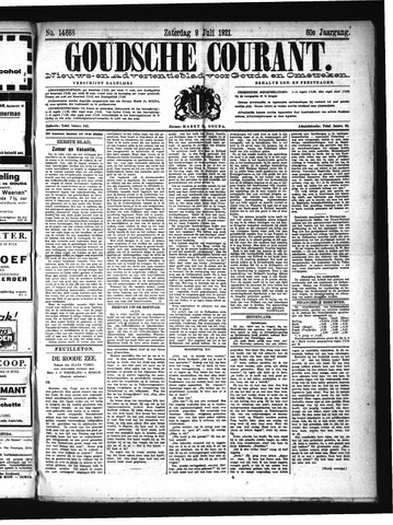 Goudsche Courant 1921-07-09