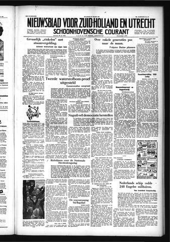 Schoonhovensche Courant 1954-03-29