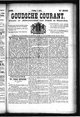 Goudsche Courant 1889-04-05