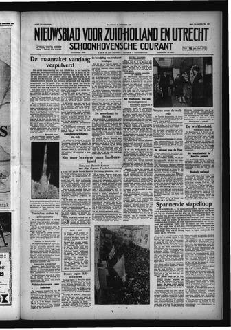 Schoonhovensche Courant 1958-10-13
