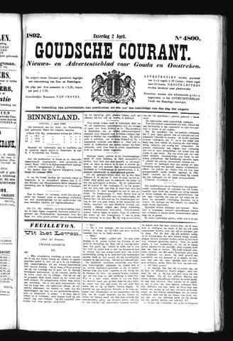 Goudsche Courant 1892-04-02