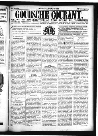 Goudsche Courant 1935-04-25