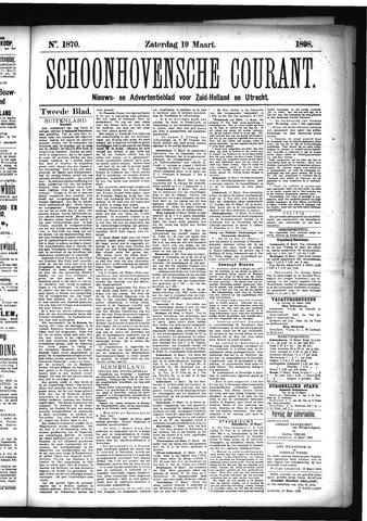 Schoonhovensche Courant 1898-03-19