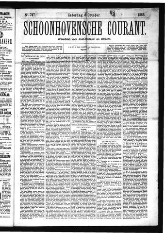 Schoonhovensche Courant 1883-10-06