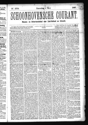Schoonhovensche Courant 1897-05-08