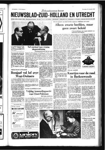 Schoonhovensche Courant 1970-11-25