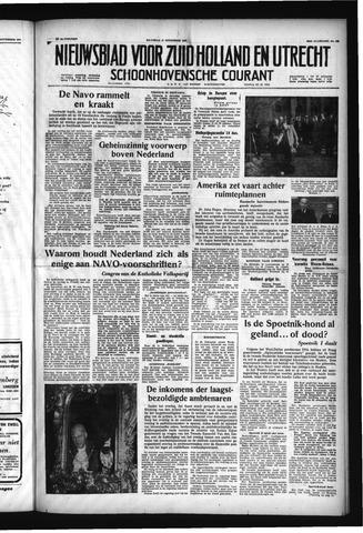 Schoonhovensche Courant 1957-11-11