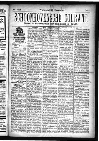 Schoonhovensche Courant 1914-12-23