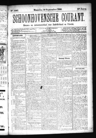 Schoonhovensche Courant 1920-09-20