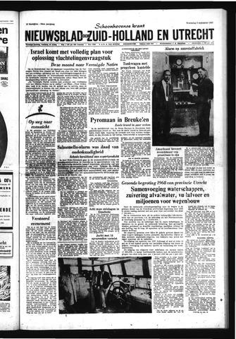 Schoonhovensche Courant 1967-09-06