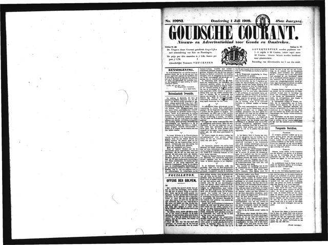 Goudsche Courant 1909-07-01