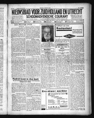 Schoonhovensche Courant 1936-08-14