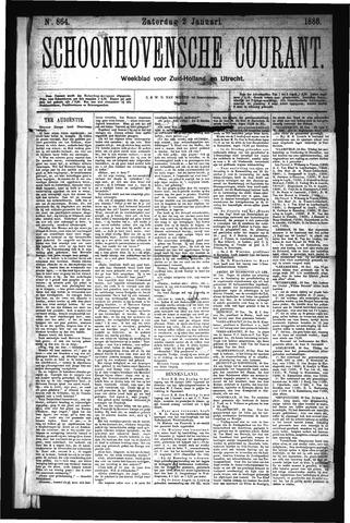 Schoonhovensche Courant 1886-01-02