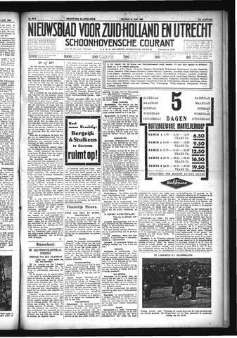 Schoonhovensche Courant 1933-06-16