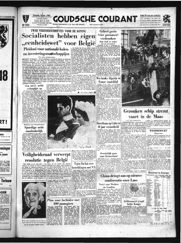 Goudsche Courant 1961-01-16