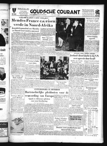 Goudsche Courant 1957-11-25