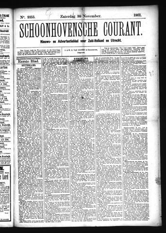 Schoonhovensche Courant 1901-11-30