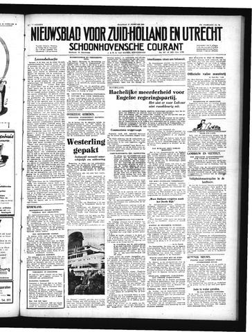 Schoonhovensche Courant 1950-02-27