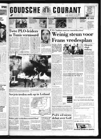Goudsche Courant 1991-01-15