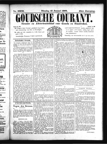 Goudsche Courant 1907-01-15