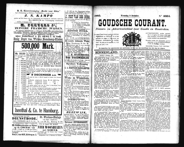 Goudsche Courant 1885-12-09