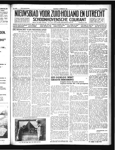 Schoonhovensche Courant 1940-02-19
