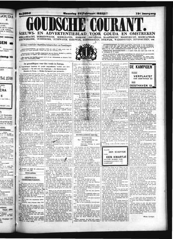 Goudsche Courant 1935-02-25