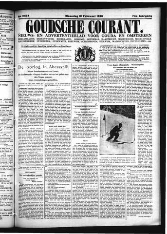 Goudsche Courant 1936-02-10