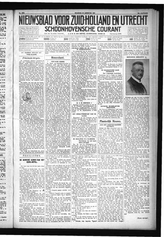 Schoonhovensche Courant 1931-08-24