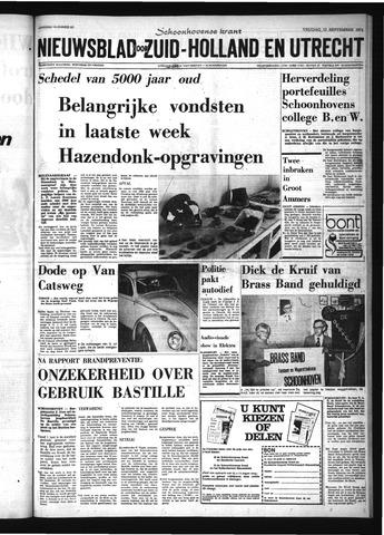Schoonhovensche Courant 1974-09-13